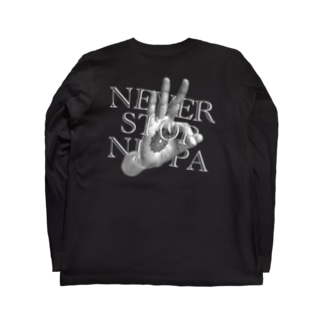 NEVER STOP NEPPA Long sleeve T-shirts