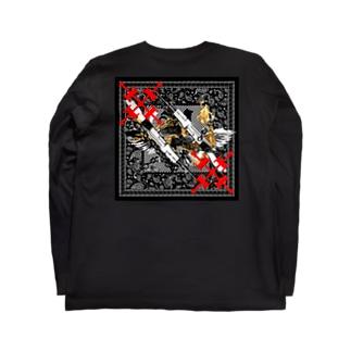 バンダナ Long sleeve T-shirts