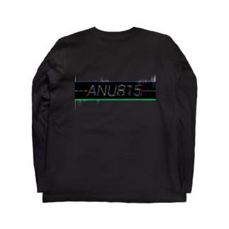 ---ANU815---glitch Long sleeve T-shirts