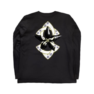 螺旋桔梗 Long Sleeve T-Shirt
