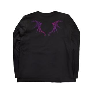 悪魔ローズ・翼 Long Sleeve T-Shirt