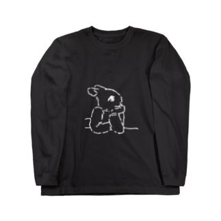 うさぎむすこ(白7) Long sleeve T-shirts