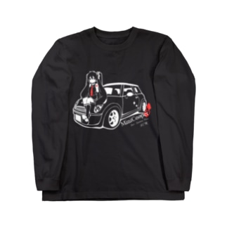 MINI Cooper S fert.初音ミク Long sleeve T-shirts