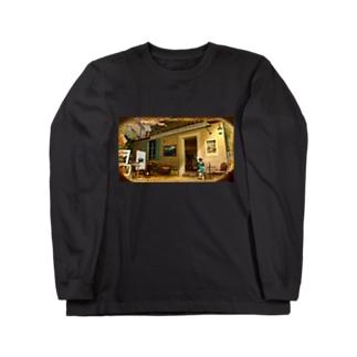 南仏の昼下がり Long sleeve T-shirts