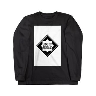 NEW LIKE ロゴ[ワルワル] Long sleeve T-shirts