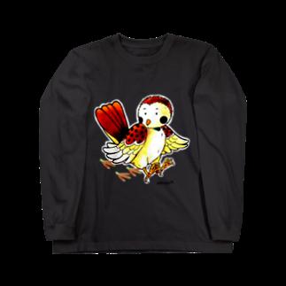 Kifuyuのしたきりすずめ Long sleeve T-shirts
