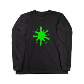 ペンキ Long sleeve T-shirts