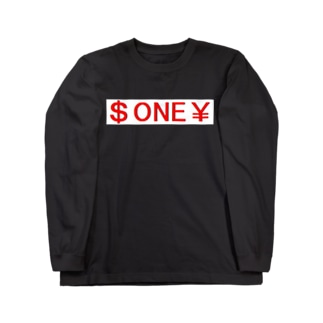 $ONE¥ Long sleeve T-shirts