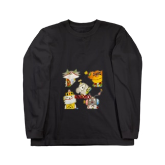 ROBOBO「CDジャケット風」 Long sleeve T-shirts