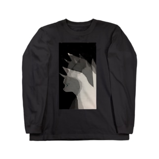 白猫さん Long sleeve T-shirts