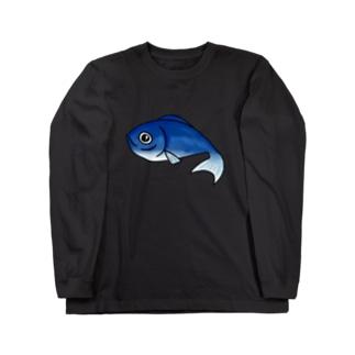 お魚ちゃん2 Long sleeve T-shirts