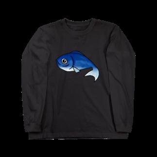 歯車のお魚ちゃん2 Long sleeve T-shirts