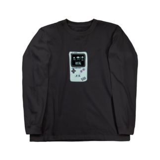 Grape Creeks 【携帯ゲーム】ロゴ Long sleeve T-shirts