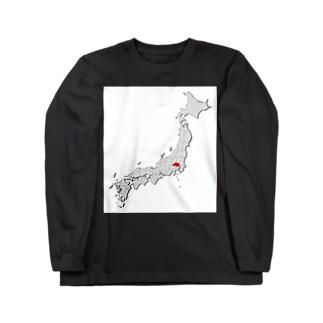 埼玉県 Long sleeve T-shirts