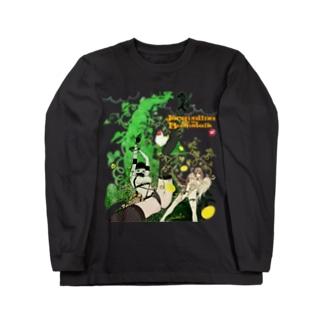ジャクリーヌちゃんと豆蔓 Long sleeve T-shirts