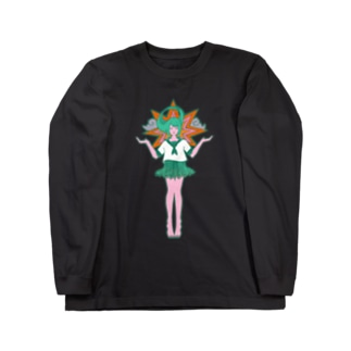 女子校聖 Long sleeve T-shirts