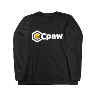Cpaw_NewLogo_white Long sleeve T-shirts