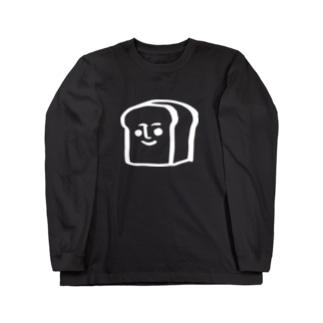パンタロー(白抜き) Long sleeve T-shirts