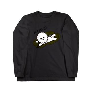 ビション・フリーゼのドロドロ Long sleeve T-shirts