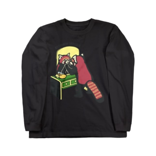 レッサーパンダのドレッサー Long sleeve T-shirts