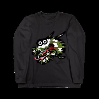 flounder2のタツ Long sleeve T-shirts