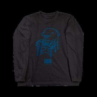 マニアパレルのそろばんイルカ Long sleeve T-shirts