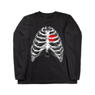 肋骨 Long sleeve T-shirts