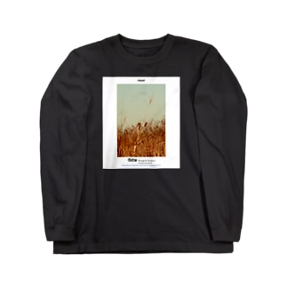 Magazine print_02【Factory】 Long sleeve T-shirts