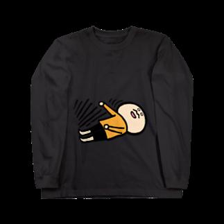 k.m.p.雑貨・SUZURI支店の気絶する。 Long sleeve T-shirts