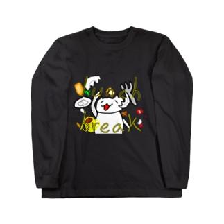 ランチブレイク Long sleeve T-shirts