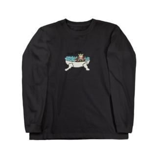 お風呂は楽しいなぁ🛀 Long sleeve T-shirts