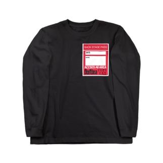 バックステージシャツ Long sleeve T-shirts