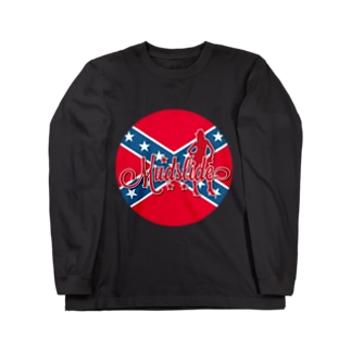 MUDSLIDE dixie flag Long sleeve T-shirts