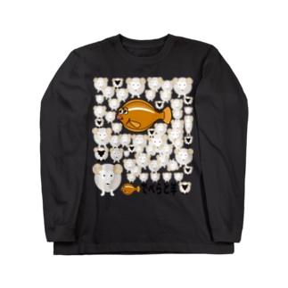 でべらと羊3 復活 Long sleeve T-shirts