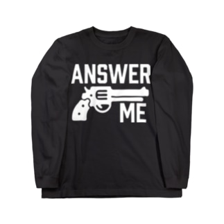 ANSWER ME Long sleeve T-shirts