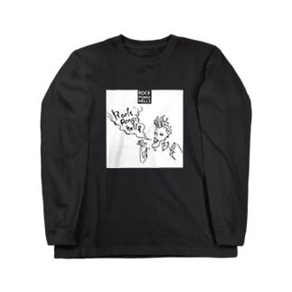 ロッポンギヘルズ_スモーキン Long sleeve T-shirts