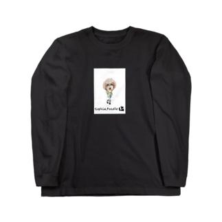 ソフィア.プードル Long sleeve T-shirts