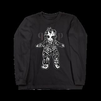 Jackpool の👼🏼🌞qpゼンタングル🌝👼🏼 Long sleeve T-shirts