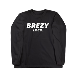 BREZY LOCO. BIG LOGOシリーズ Long sleeve T-shirts