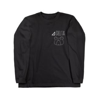 ⊿DELKUMA WHTLINE Long sleeve T-shirts