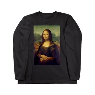 モナリザ Long sleeve T-shirts
