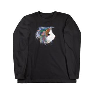 カラフルペルビアン Long sleeve T-shirts