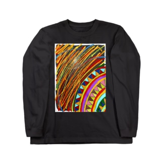 らくがき👁 Long sleeve T-shirts