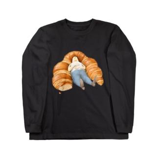 くろわっさん Long sleeve T-shirts