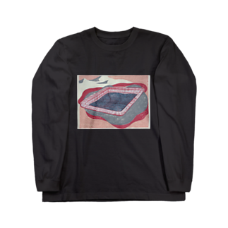upeolupeoのpoolと砂漠 Long sleeve T-shirts