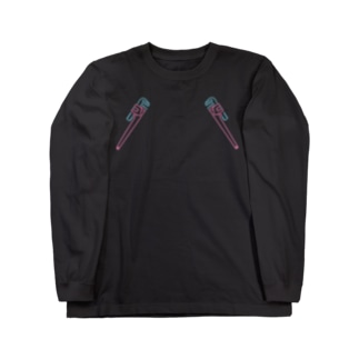 wrench(neon) Long sleeve T-shirts