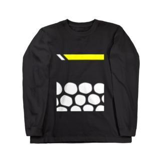 モンガラカワハギ Long sleeve T-shirts