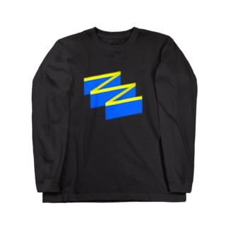 ハナヒゲウツボ Long sleeve T-shirts