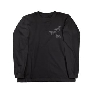 コウモリさん Long sleeve T-shirts