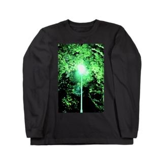 Night green Long sleeve T-shirts
